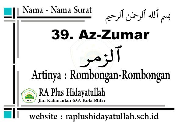 Tugas Peserta Didik  2 April 2020 RA Plus Hidayatullah Kota Blitar